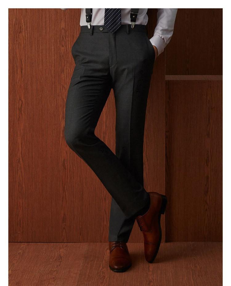 """""""衣邦人西服课堂:西裤的合适长度是多少?"""